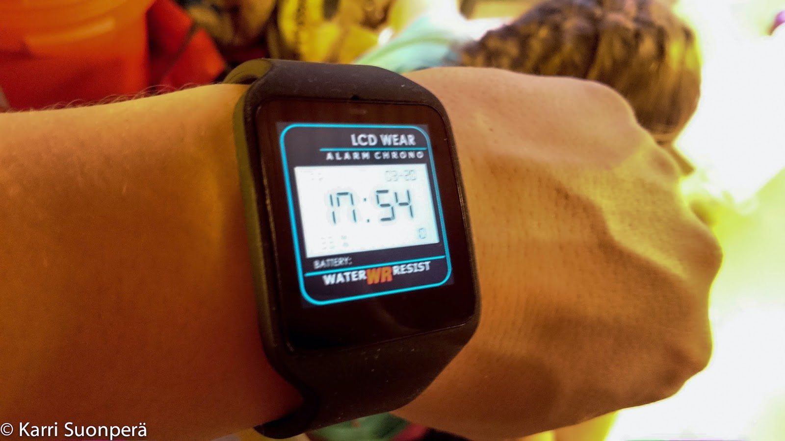 Sony Smartwatch 3 ensikokemukset.